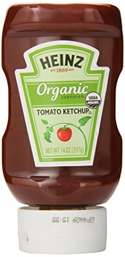 Heinz Organic Tomato Ketchup, 14 Ounce (Pack of