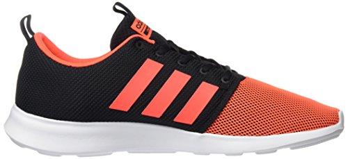 adidas CLOUDFOAM SWIFT RACER - Zapatillas de deporte para Hombre, Negro - (NEGBAS/ROJSOL/FTWBLA) 49 1/3