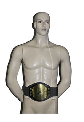 [Wrestling Ring World Champion Gold Medal Belt Costume Accessory Joke Gag] (Wwe Wrestling Costumes For Adults)