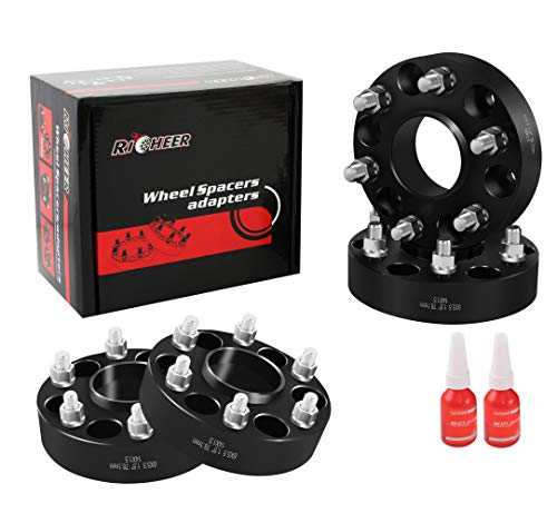 Richeer Wheel Spacers 6x5.5 for ChevyTahoe/Avalanche/Express/Suburban,GMCSierra/Yukon, Cadillac Escalade,1.5