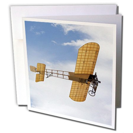 3dRose New Zealand, Warbirds Over Wanaka, Airplanes Greeting Cards, 6