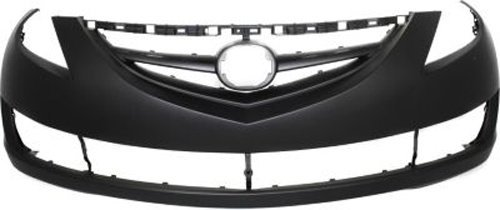 Crash Parts Plus Primed Front Bumper Cover Replacement for 2009-2012 Mazda 6