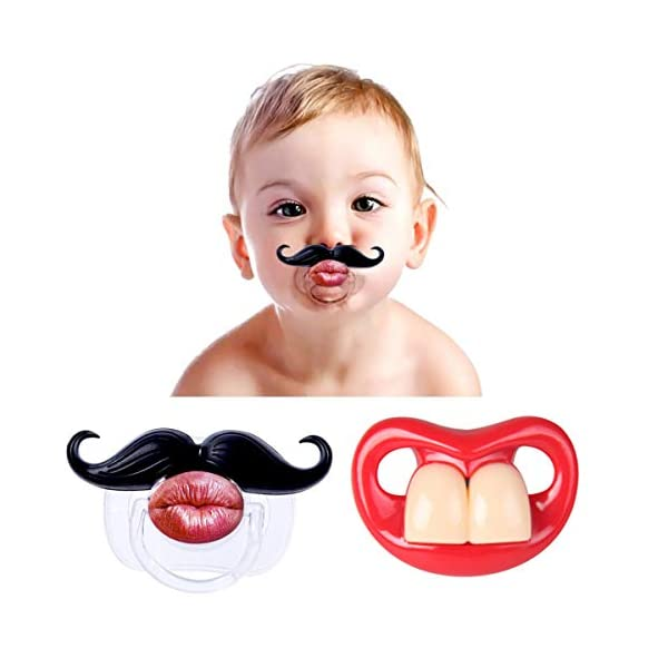 2Pcs-Funny-Teeth-And-Mustache-PacifierCute-Gentleman-Mustache-Designed-Baby-Pacifiers-for-Soothe-Your-Newborn-Baby-Perfect-Baby-Shower-Gift-For-Small-Boys-Or-Girls2-Pack