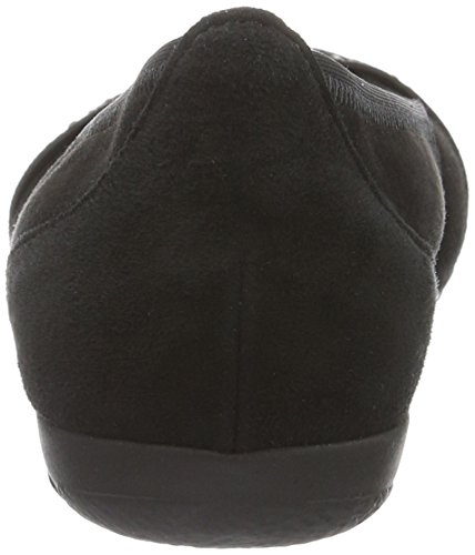 Gabor Dames Mode Gesloten Flat Zwart (black 17)