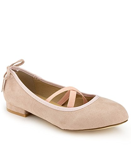 RF ROOM OF FASHION Mary Jane Ballet Flats - Stylish and Comfortable Ballerina Style Flat Shoes - Women's Mary Janes with a Low Heel and Bow Back Straps - Dress (Cute Ways To Dress Up)