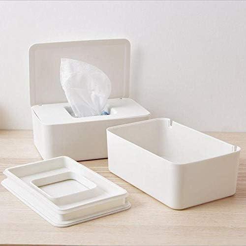 Cas de Stockage de Tissu bo/îte Humide de Tissu avec Le Couvercle pour Le Bureau /à la Maison Hook.s Le Support de Distributeur de lingettes humides