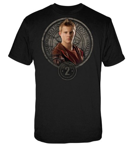 Neca The Hunger Games Movie Men's Tee Cato in Stone Seal XL