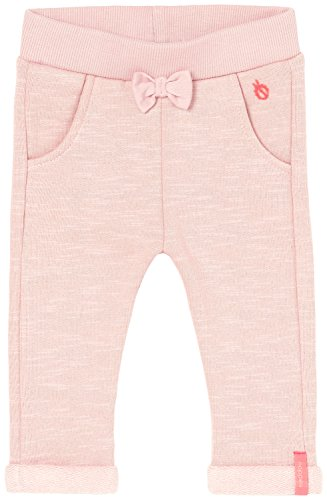 Noppies Baby-Mädchen Hose G Pant Sweat Tapered Crystal, Rosa (Blush C093), 80
