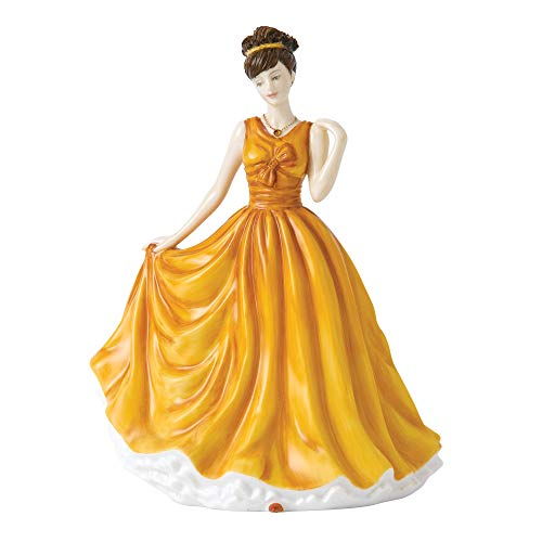Royal Doulton Birthstone Petites November Figurine, 7 , Topaz