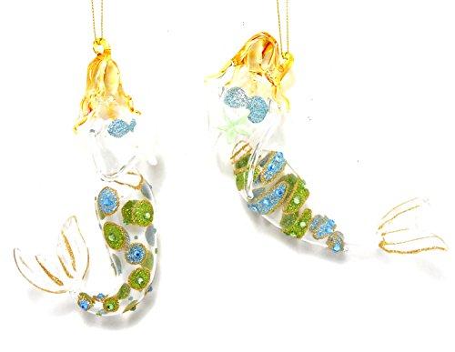 Mermaid Ornaments - 2 Assorted