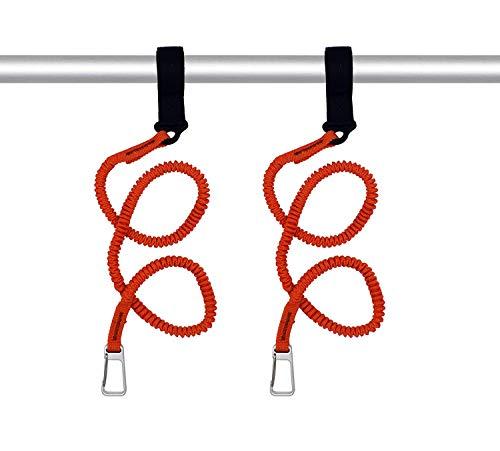 - YYST Orange Paddle Leash Paddle Holder Tool Lanyard - No Paddle (Orange X 2 Pack)