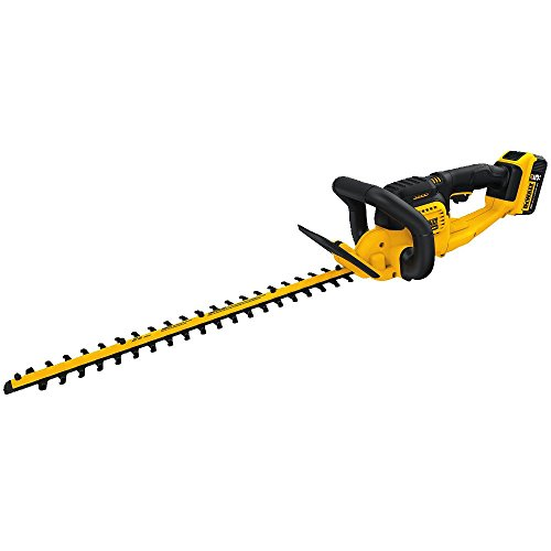 DEWALT DCHT820P1 20 V Max Hedge Trimmer with 5AH Pack ()