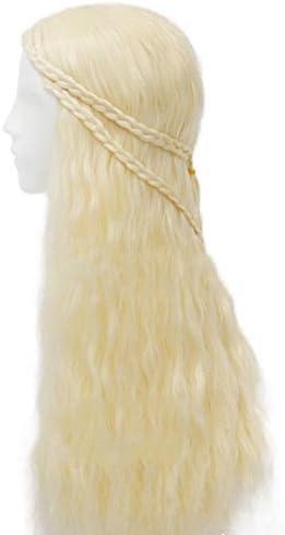 thematys Khaleesi Daenerys Targaryen Peluca Wig - Disfraz de Game ...