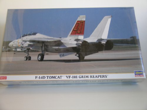 F-14D Tomcat VF-101 Grim Reapers Plastic Model Kit (Grim Reaper Cat)