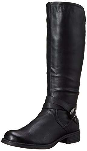 Women's Spring It Yeriwiel Riding Boot Call Synthetic Black qERnZxnw