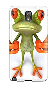 Defender Case With Nice Appearance (3d Frog) For Galaxy Note 3 8167872K54056223