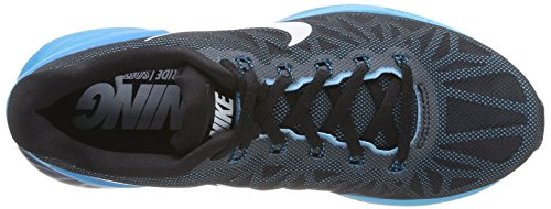 Nike - Zapatillas de running para mujer Negro (Black / White-Blue Lagoon-Clrwtr)