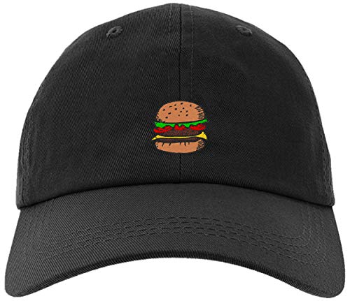 Cheeseburger Hat - owndis Cap Embroidered Hamburger Cap for