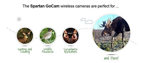 SPARTAN HD GoCam (4G AT&T Version, Model#GC-A4Gb, Blackout Infrared) 4G Wireless UTowel Bundle Deal Bundled with UTowels Edgeless Microfiber Towels
