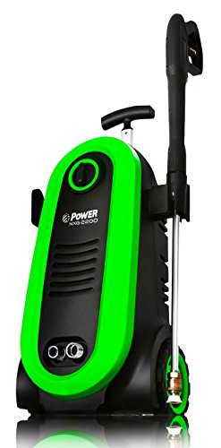 (Power Pressure Washer NXG-2200 PSI 1.76 GPM Electric 14.5Amp BRUSHLESS Induction Technology | The Next Generation of Pressure Washer | 4X More Lifespan | Ultra Low Sound (Green))