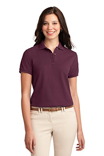(Port Authority Women's Silk Touch Polo M)