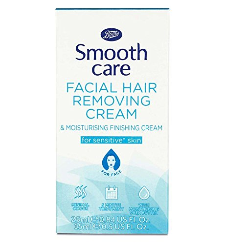Boots Smooth Care Facial Hair Removing Cream ()