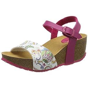 Desigual Shoes (Bio7_Galactic), Sandali con Cinturino alla Caviglia Donna