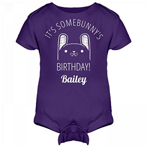 Bailey Boys Bunny (It's Some Bunny's Birthday Bailey: Infant Rabbit Skins Lap Shoulder Creeper)