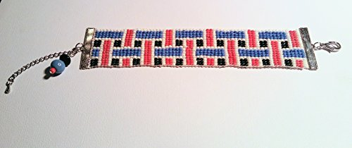 Woven Pattern Beaded Bracelet (J Renee Wrap)