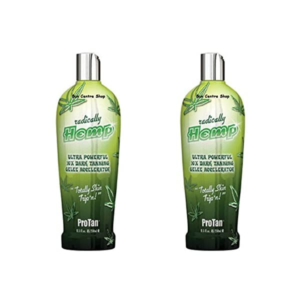 2X Pro Tan Radically Hemp Tanning Lotion