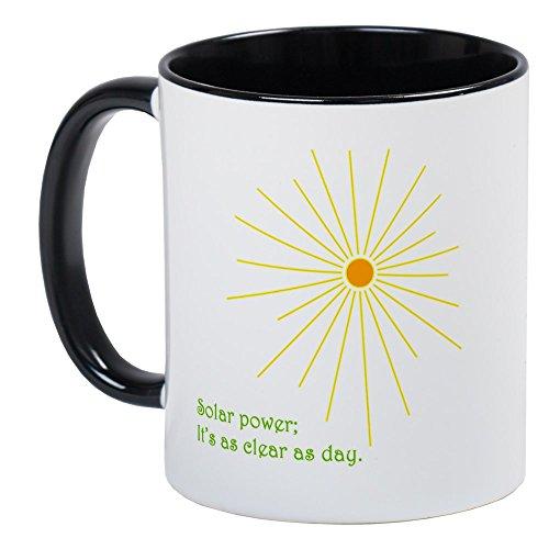 CafePress - Solar Power Mug - Unique Coffee Mug, Coffee Cup by CafePress