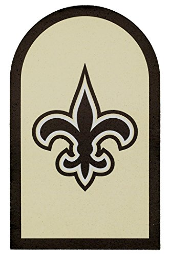 Applied Icon NFL New Orleans Saints Mailbox Door Logo Decal ()