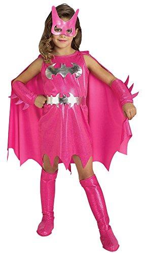 BESTPR1CE Girls Halloween Costume- Pink Batgirl Kids Costume Md