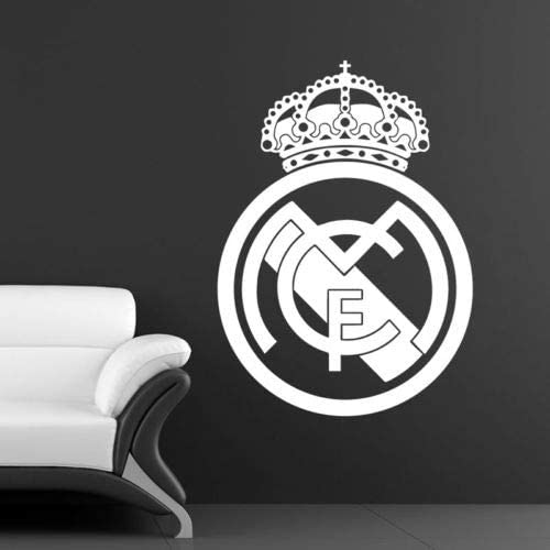 Utopiashi Pelota de Futbol Football Club Real Madrid Logo Vinyl ...