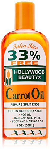 Hollywood Beauty Carrot Oil, 8 Ounce
