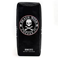 Image of the product Death Wish Ground Coffee, that is listed on the catalogue brand of Death Wish Coffee Co..
