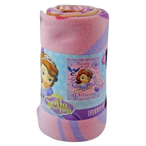 "Fleece Throw - Disney - Sofia The First - Ready To Be A Princes 46""x60"" Blanket"