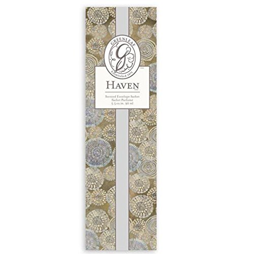 Greenleaf Slim Scented Envelope Sachet Set of 4 - Haven Greenleaf Gifts GL-902489-4PK