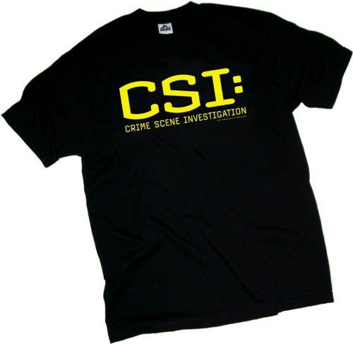 CSI: Crime Scene Investigation TV Show Logo Youth T-Shirt, Youth Medium