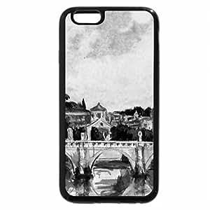 iPhone 6S Plus Case, iPhone 6 Plus Case (Black & White) - The Vatican 1