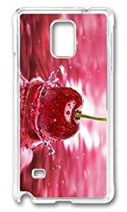 Adorable cherry fruit Hard Case Protective Shell Cell Phone For Case Iphone 6 4.7inch Cover - PC Transparent