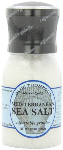 021248102066 - Olde Thompson 4.5 Ounce Mediterranean Sea Salt Grinder with Salt carousel main 0