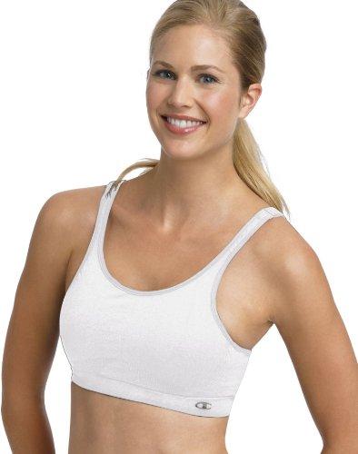 Champion Double Dry Full Support Bra Womens 34/36 D/Dd (white)