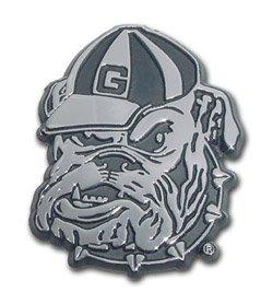 Georgia Bulldogs Emblem - Georgia Bulldogs Metal Auto Emblem