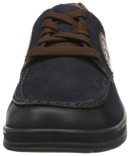 Ganter Hugo Weite H 7-257502-31230 - Zapatos de cuero para hombre, color varios colores, talla 40.5 Varios colores (Mehrfarbig (navy/tabacco 3123))