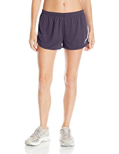 ASICS Women's Rival Ii 1/2 Split Shorts, Steel Grey, Medium (Womens Split Running Shorts)