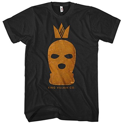 (Smash Transit x Beery Method Men's King Villain Co. T-Shirt - Black, XXXX-Large)