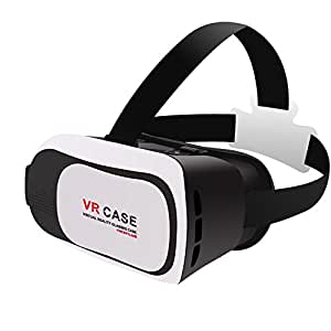 "Homesway 3D VR Head-mounted Display Headset Glasses RK3Plus Virtual Reality Mobile Phone 3D Movies for iPhone 6s/6 plus Samsung Galaxy s5/s6/note4/note5 and Other 4.7""-6.0"" Cellphones"