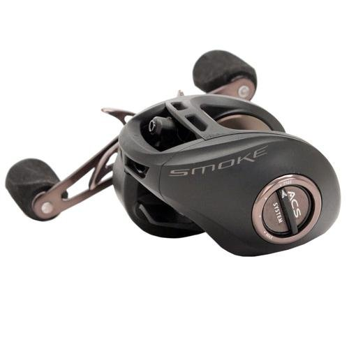 Quantum Fishing Smoke PT 9BB 6.3:1 Right Hand Baitcast Fishing Reel