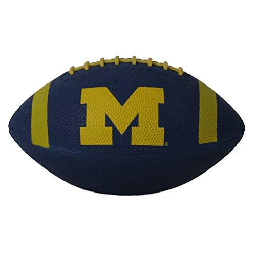 Baden Michigan Wolverines Mini Rubber Football
